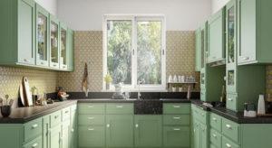 Kitchen Interior design model